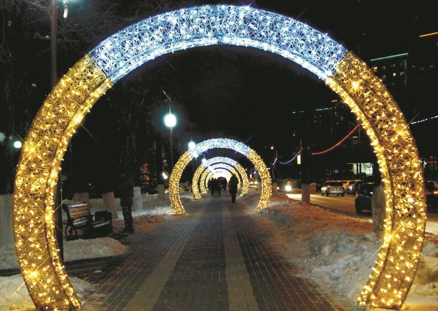 Новый год арки