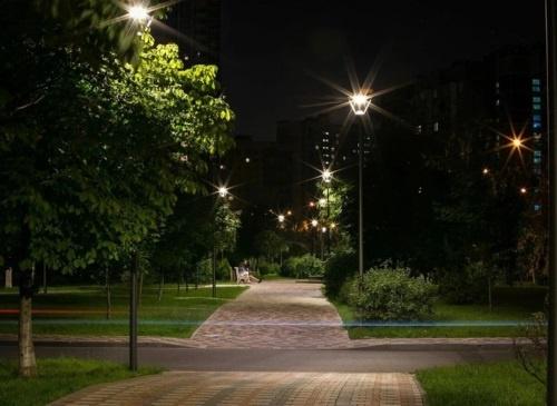Освещение парков и зон отдыха